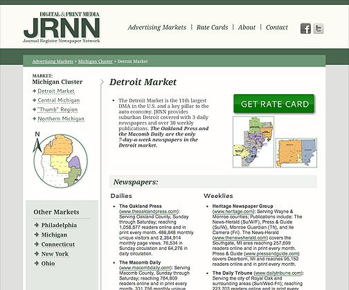 April launch of custom website for JRNN! 1