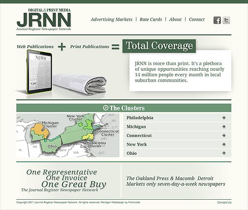 April launch of custom website for JRNN!