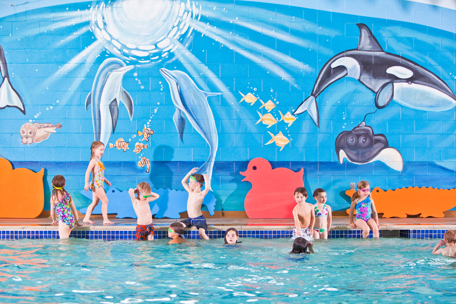 New Goldfish Swim School Website Makes a Splash!