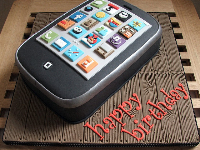Поздравление с днем рождения с айфона