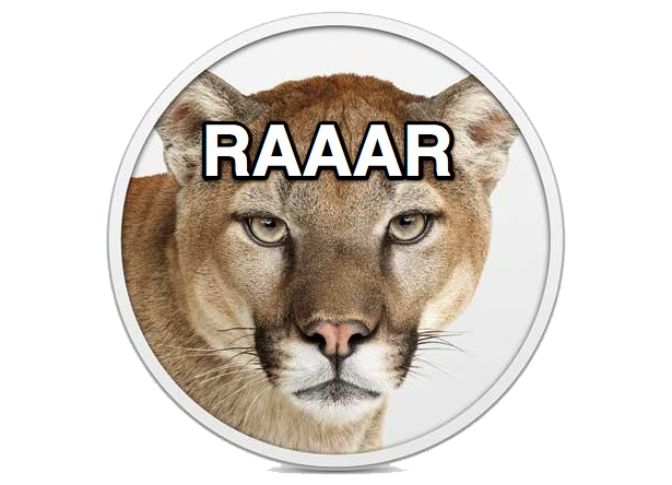 Roaring For OS X Mountain Lion
