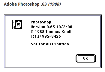 A Look At the Original Photoshop 5