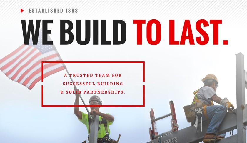 Commercial Construction Website