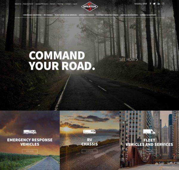 automotive manufacturer website