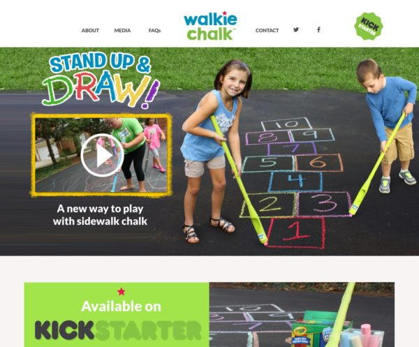 New eCommerce Website - Walkie-Chalk