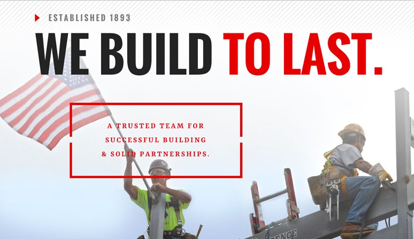 New Commercial Construction Website - Spence Brothers