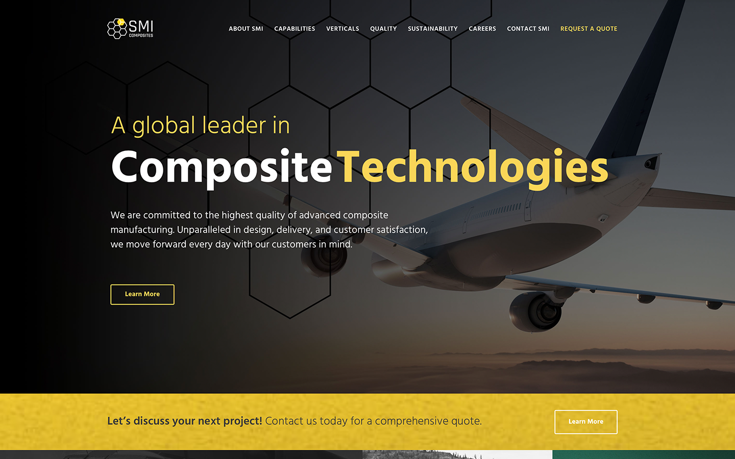 Composites Manufacturer Website