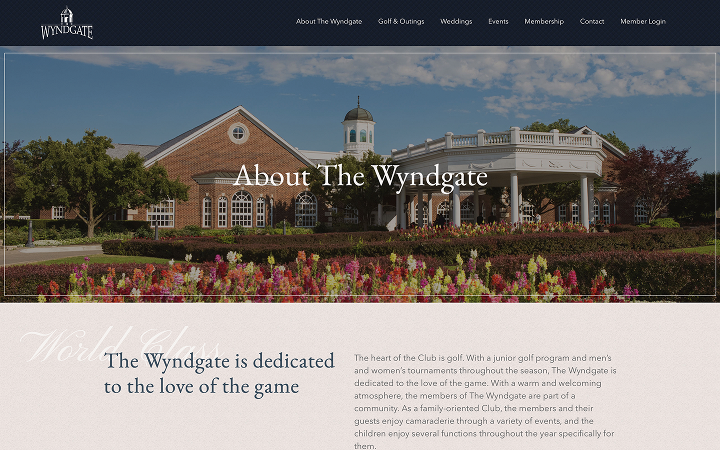 The Wyndgate Country Club 2