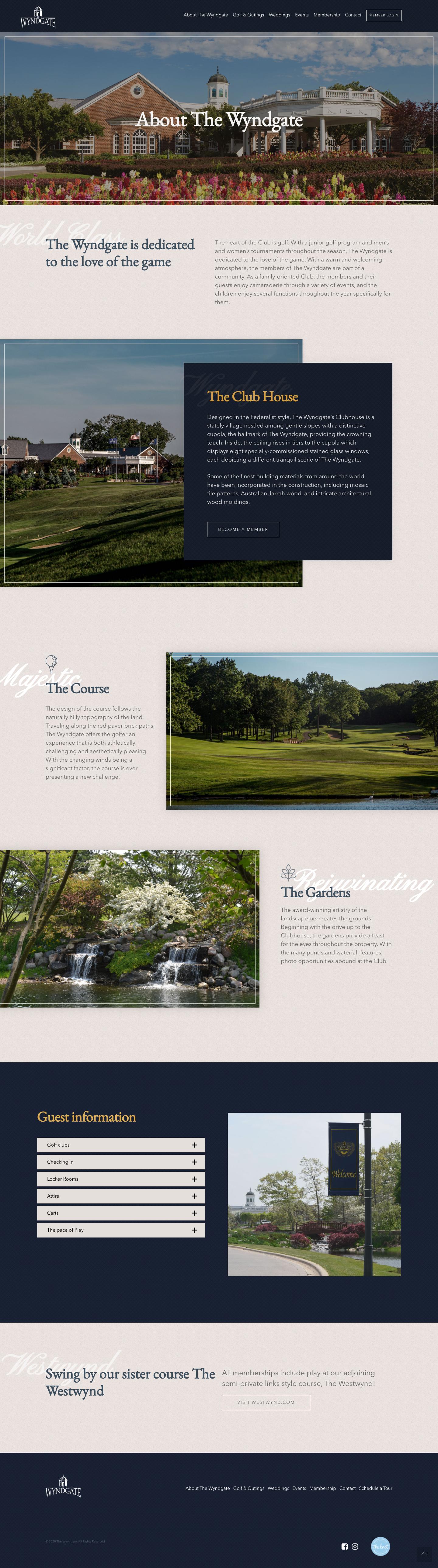 wyndgate golf country club details
