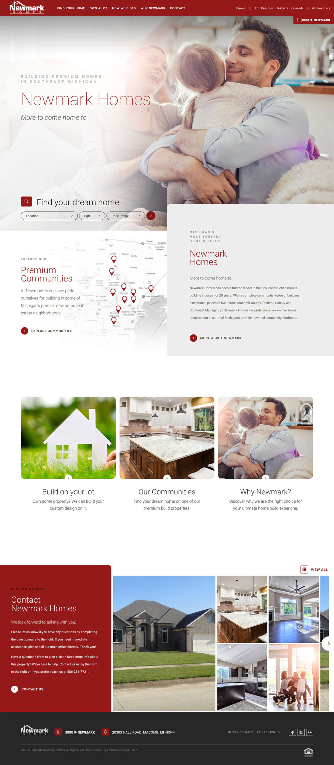 best homebuilder web design