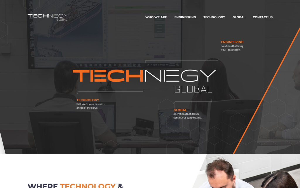 Technegy Website Design