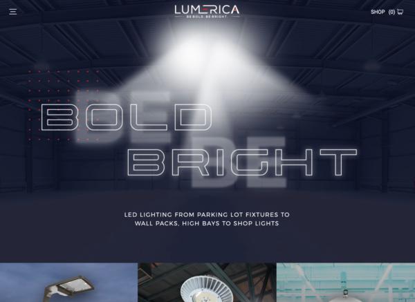 Lumerica Ecommerce Website