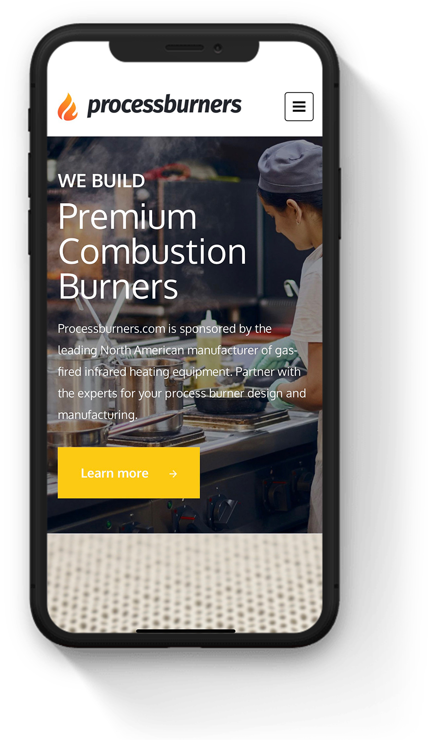 best mobile website industrial products