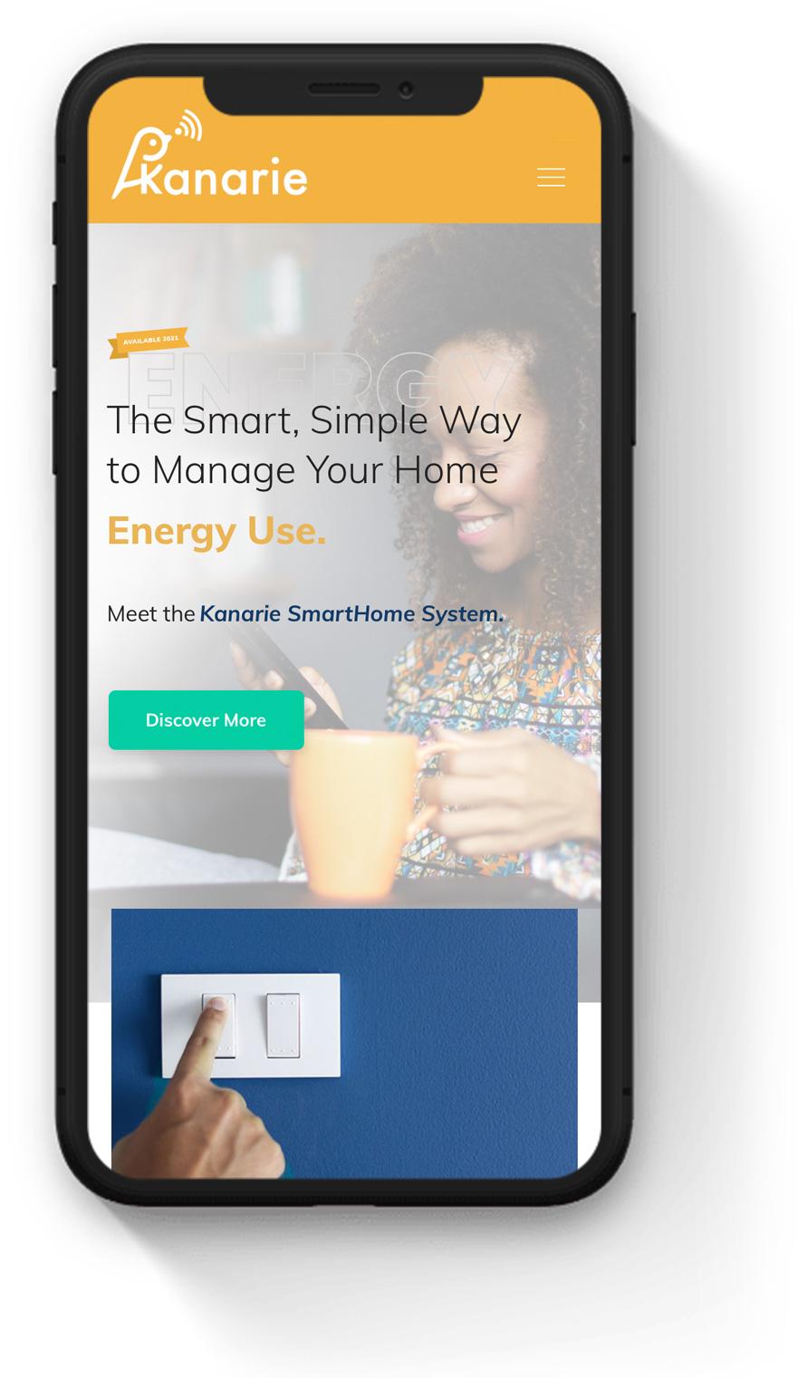 consumer electronics mobile website
