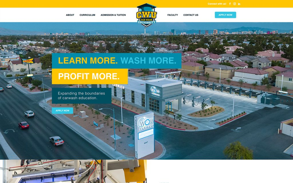Car Wash University Website Build!