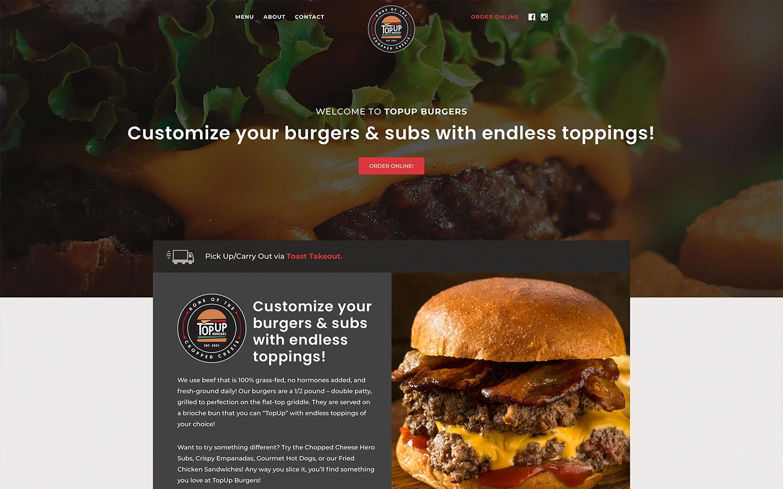 Local Restaurant Web Design