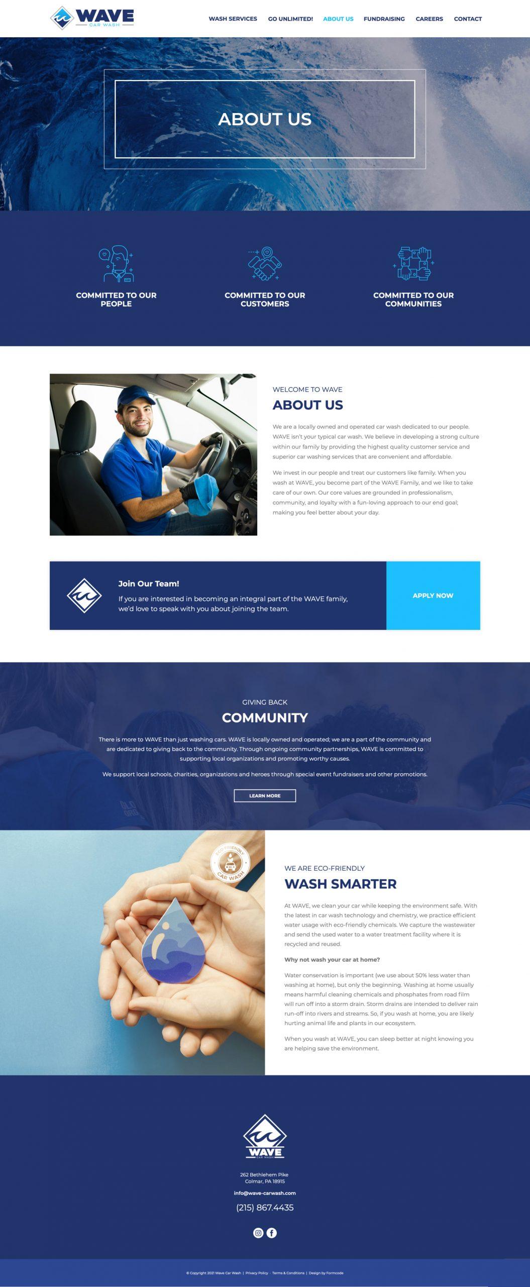 Car Wash Web Design Subscription
