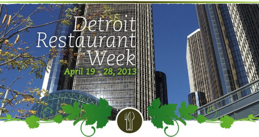 Detroit Restaurant Week 1