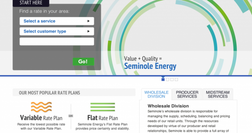 Seminole Energy New Site Launch 2