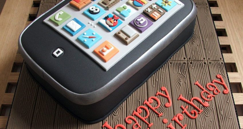 Happy Belated Birthday, iPhone! 1