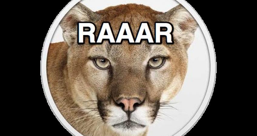 Roaring For OS X Mountain Lion 1